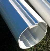 YOUTH FOOTBALL GOALS - ELLIPTICAL ALUMINIUM PACKAGE DEAL 21 x 7